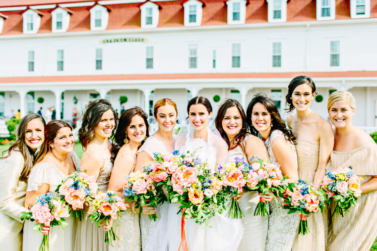 Lynda Williams Beauty Bridal Party Block Island Rhode Island