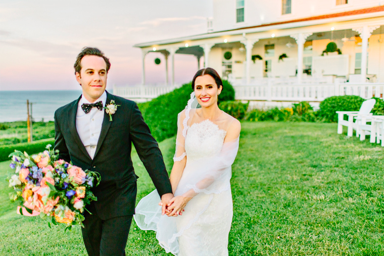 Lynda Williams Beauty Bride and Groom Block Island