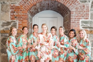 Lynda Williams Beauty Bridal Party getting ready