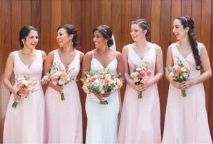 Lynda Williams Beauty Bridal Party hairstylesl Party