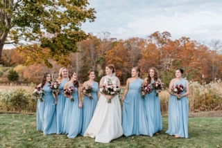 Lynda Williams Beauty Fall Bridal Party