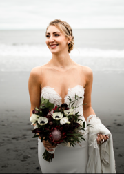 Lynda Williams Beauty Bride with Updo